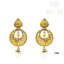 Formidable Gold Fancy Earring