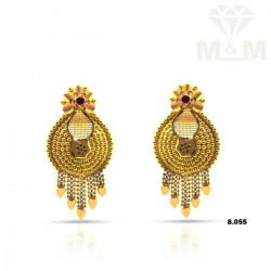 Incomparable not Gold Fancy Earring