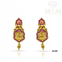 Incredible Gold Fancy Earring