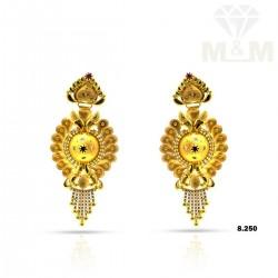 Sumptuous Gold Fancy Earring