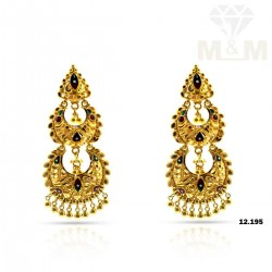Personable Gold Fancy Earring