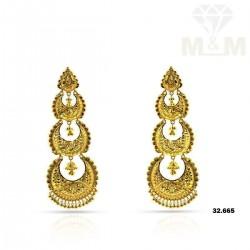 Marvels One Gold Fancy Earring