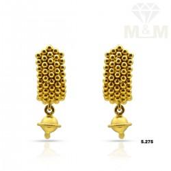 Marvelously Gold Fancy Earring