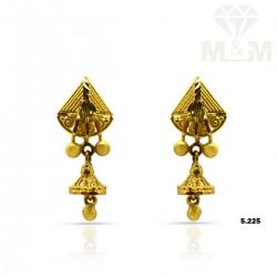 Perfect Gold Fancy Earring