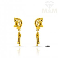Picturesque Gold Fancy Earring