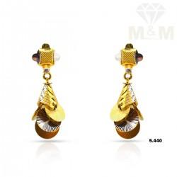 Pleasant Gold Fancy Earring