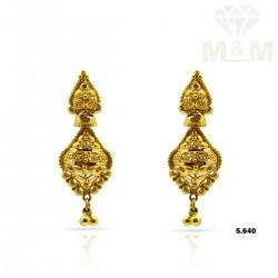 Quite Gold Fancy Earring