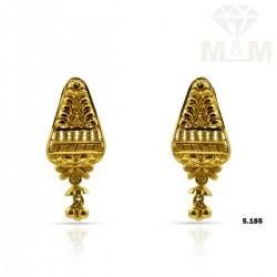 Scenic Gold Fancy Earring