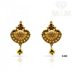 Stupendous Gold Fancy Earring