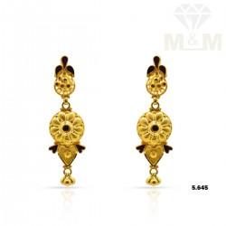 Superduper Gold Fancy Earring