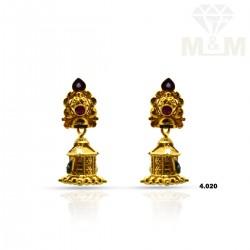 Vivid Gold Fancy Earring