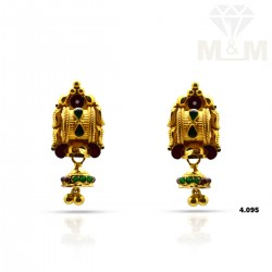 Wonder work Gold Fancy Earring