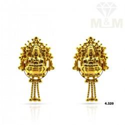 Esthetic  Gold Fancy Earring