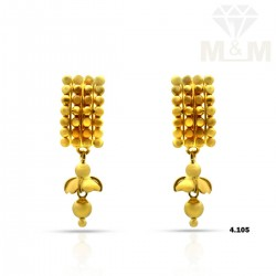 Verdant Gold Fancy Earring