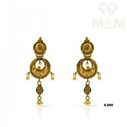 Glorious Gold Fancy Earring