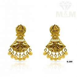 Legend Gold Fancy Earring