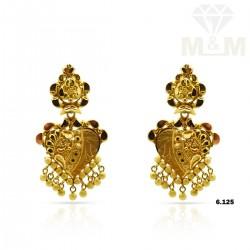 Fabled Gold Fancy Earring
