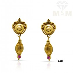Treasured Gold Casting Earring