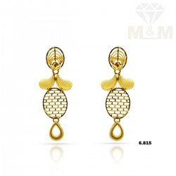 Venerable Gold Casting Earring