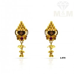 Prolific Gold Fancy Earring