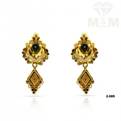 Indelible Gold Fancy Earring