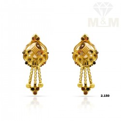 Nonpareil Gold Fancy Earring