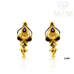 Lambent Gold Fancy Earring