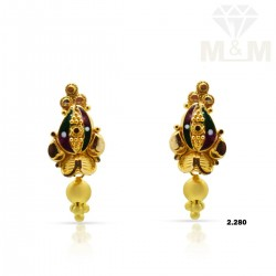 Observant Gold Fancy Earring