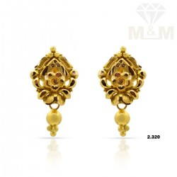 Jazziest Gold Fancy Earring