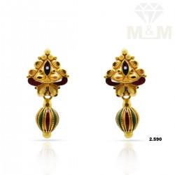 Impressive Gold Fancy Earring