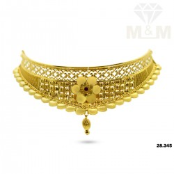 Amiable Gold Fancy Necklace