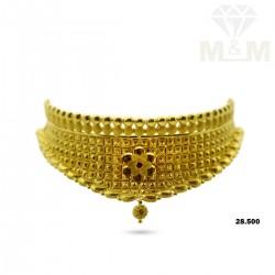 Grandeur Gold Fancy Necklace