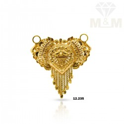 Amazing Gold Fancy Pendant