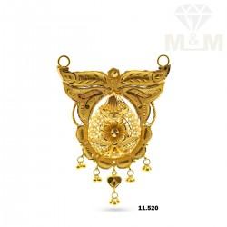 Canny Gold Fancy Pendant