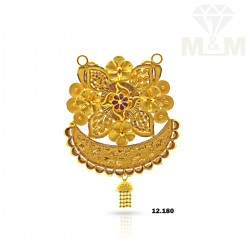 Colorful Gold Fancy Pendant