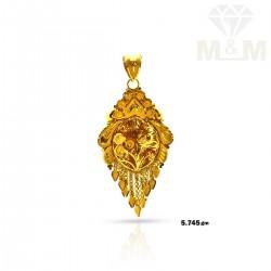 Delightful Gold Fancy Pendant