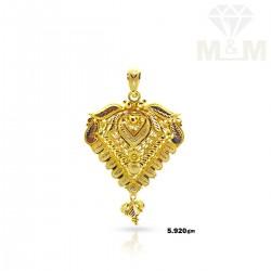 Embellish Gold Fancy Pendant