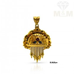 Excellent Gold Fancy  Pendant