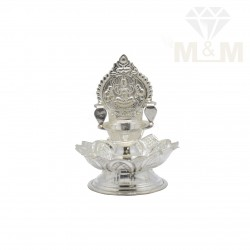 Traditional Silver Lotus...