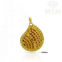 Exciting Gold Fancy Pendant