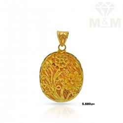 Famous Gold Fancy Pendant