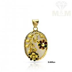 Fantastical Gold Fancy Pendant