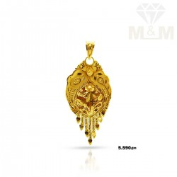Fascinating Gold Fancy Pendant