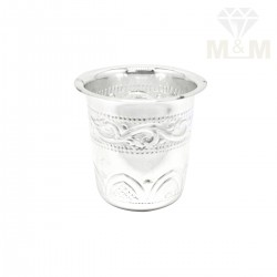 Superb Silver Fancy Tumbler