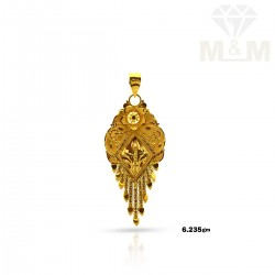 Glorious Gold Fancy Pendant