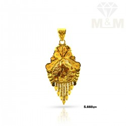 Good Looking Gold Fancy Pendant