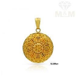 Graceful Gold Fancy Pendant