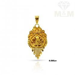 Humble Gold Fancy Pendant