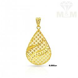 Lovely Gold Casting Pendant