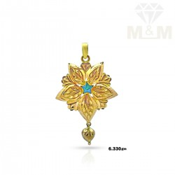 Nifty Gold Casting Pendant